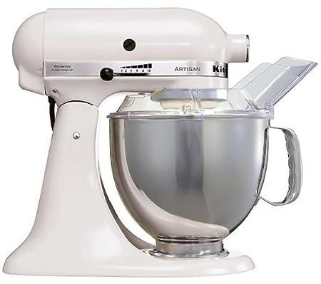 kitchenaid 5ksm150psewh artisan food processor white amazon co uk