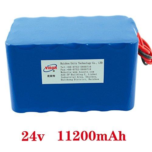 24v 11.2ah 18650 external battery packs 11200mah rechargeable battery for robot outdoor portable lithium batteries