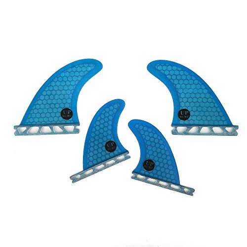 UPSURF Surfboard Future Fins Fiberglass+Honeycomb Quad for sale  Delivered anywhere in USA