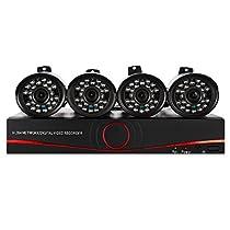 1 million wireless monitoring equipment 4 sets of millions of high-definition wireless network camera WIFI camera UK plug