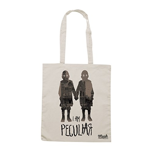 Borsa IO SONO SPECIALE MISS PEREGRINE TIM BURTON - Sand - FILM by Mush Dress Your Style