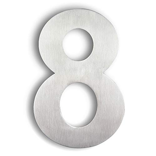 8 inch house numbers - 2