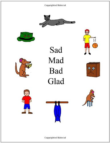 Sad Mad Glad Bad (The Single Sound System of Learning to Read)