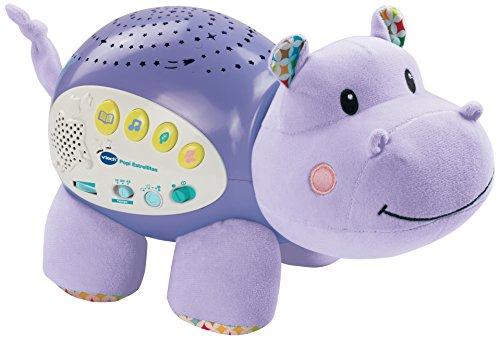 VTech Baby – Popi estrellitas, Proyector de bebe con música relajante para ayudarle a dormir, historias, sonidos de la…
