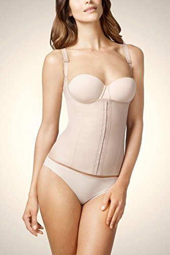 Squeem - Perfectly Curvy, Women's High Compression WYOB Waist Cincher Vest (Best Waist Cincher Vest)