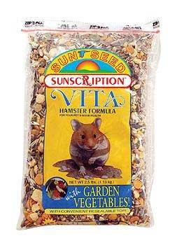 Sun Seed Company Vita Hamster w/ Garden Vegetables Formula (Sun Seed Company Hamster)