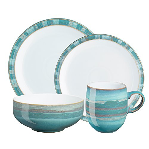 Denby Azure Coast 16-Piece Dinnerware Set