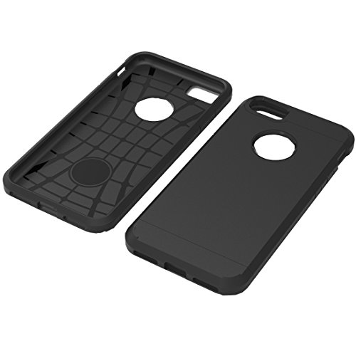 Tuff-Luv TPU Armour Gel Hülle für Apple Iphone 7 - Schwarz