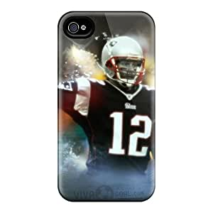Perfect Cell-phone Hard Cover For Iphone 6 With Provide Private Custom Trendy New England Patriots Pattern SherriFakhry