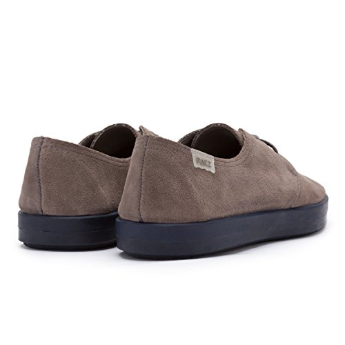 VULK LACE UP - COW SUEDE GREY