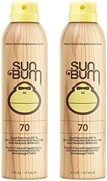 Sun Bum Continuous Spray LnjrN Sunscreen, SPF 70 (2 Pack)