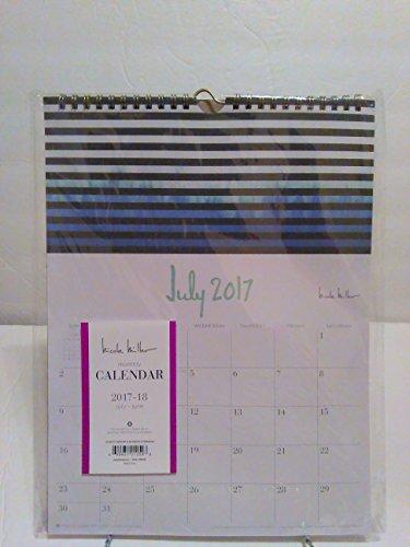 Blue Sky™ Nicole Miller Monthly Academic Wall Calendar, 9