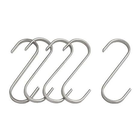 IKEA Stange Grundtal Handtuchhalter Kochtopfhalter aus Edelstahl rostfrei 80 cm breite Halterstange
