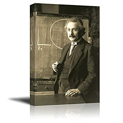Gorgeous Work of Art, Created Just For You, Portrait of Albert Einstein Wall Decor