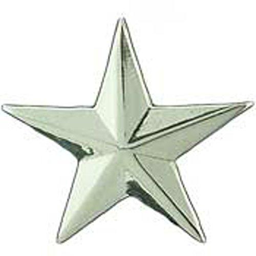 EagleEmblems P12171 Rank-Army,General C1 (1'' Star) (Slv) (1'') ()