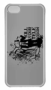 Customized iPhone 6 PC Transparent Case - Television Art Personalized Cover