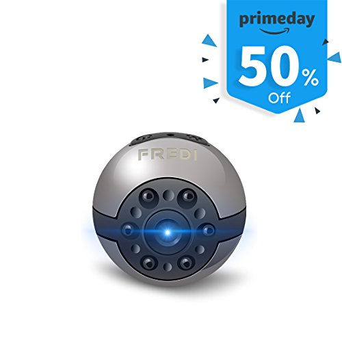 Hidden Camera,FREDI Full HD 720P/1080P 2 video formats switch hidden spy cameras wireless security camera Video Recorder with Infrared Night Vision