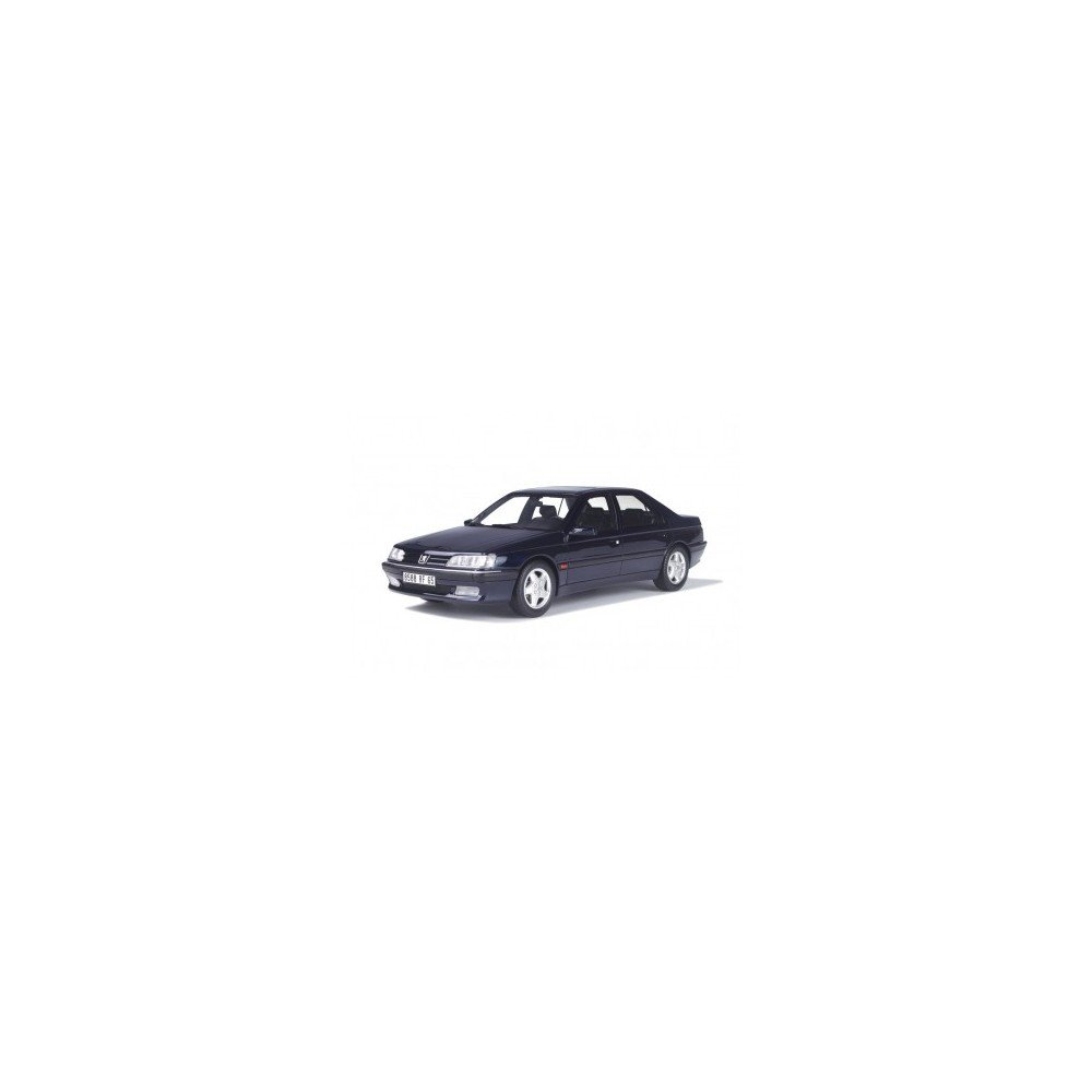 Otto Mobile – ot206 – Peugeot 605 SV 24 – 1992 – Escala 1/18 – Azul