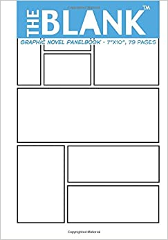 """The Blank Graphic Novel Panelbook: 7""""x10"""", 79 pages: About"""