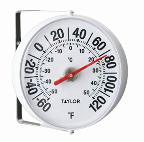 Taylor Precision Products 5159 5-1/4-Inch Diameter Outdoor Thermometer - Quantity 1