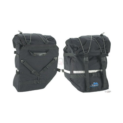 Jandd Large Mountain Pannier, Black