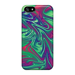 SashaankLobo Scratch-free Phone Cases For Iphone 5/5s- Retail Packaging - Aura Star Abstract