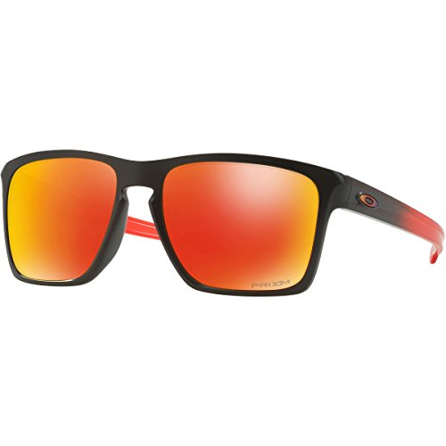 Oakley Men's Sliver Xl (a) Non-Polarized Iridium Square Sunglasses, Ruby Fade, 57 - Sunglasses Ruby