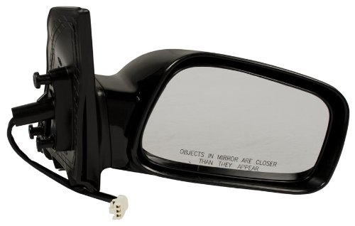 a Corolla Passenger Side Mirror Outside Rear View (Partslink Number TO1321178) ()