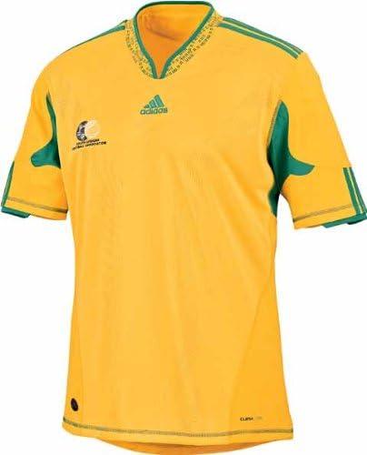 Adidas - SUDAFRICA 1ª Camiseta WC2010 Hombre: Amazon.es: Deportes y aire libre