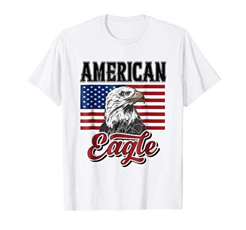 (American Eagle Tshirt Patriotic Clothing For Men Women Flag)