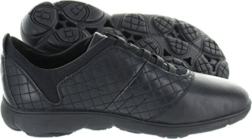 D Women's Nebula Black Geox Trainers Black F CR7wx5q