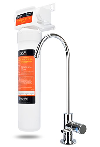H2O+ Coral Single-Stage Undercounter Water Filter System by Brondell