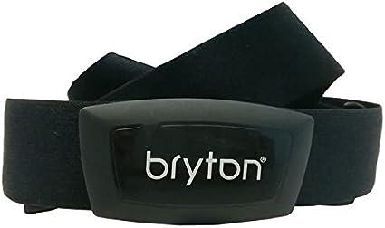 Bryton Banda y Sensor Frecuencia Cardiaca GPS Ciclismo, Negro, Talla Única