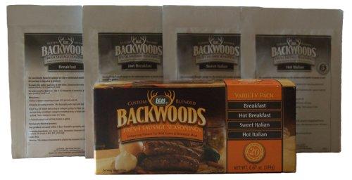 Mild Seasoning (LEM Backwoods Fresh Sausage Variety Pack)