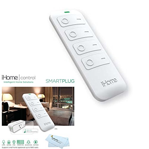 iHome iSPR4WC Remote Control for iSP8 Smart Plugs - works from 35 feet away