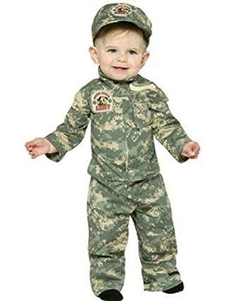 Army Uniform Infant Costume Toddler Size 12-24 Months Sc 1 St Amazon.com  sc 1 st  Germanpascual.Com & Infant Army Costume u0026 Time Out Tot Infant/Toddler Costume Sc 1 St ...