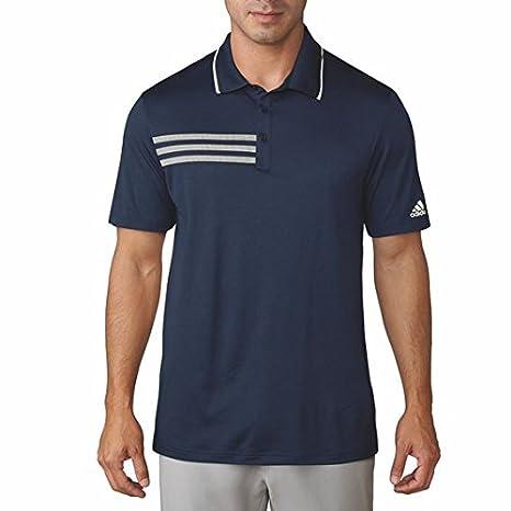 sneakers for cheap 234cd 2b3bf adidas 3-Stripes Mesh Collana Polo da Golf, Uomo, Uomo, 3-