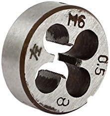 Aexit M6 x 0,5 mm Metrisch 20 mm Durchmesser Dia Stahlrundgewindeschneidewerkzeug (1089723880e6f5632dfd3010011d1212)