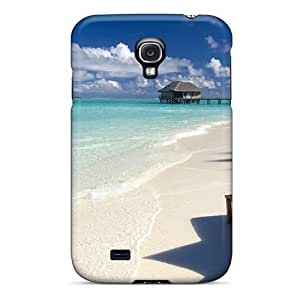 Defender Case For Galaxy S4, Relax Beach Beautiful Beauty Pattern