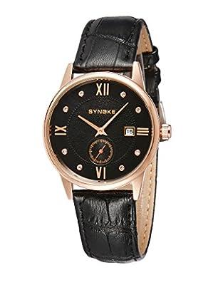 Auspicious beginning Men's Fashion Business Ultra-thin Wrist Quartz Watch