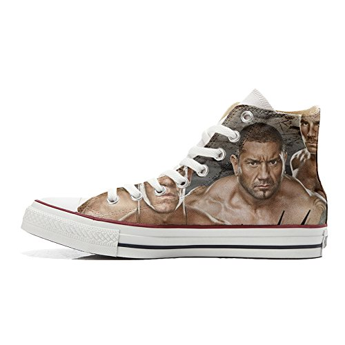 Converse Customized Chaussures Coutume (produit artisanal) WWE Wrestling