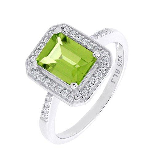 Oval Cut Emerald Ring - 8