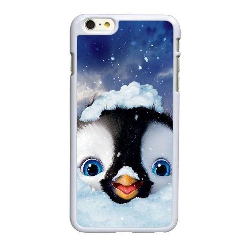 X5D48 Happy Feet Two film P3G3JC coque iPhone 6 4.7 pouces cas de couverture de téléphone portable coque de RT6ROR0MX blanc