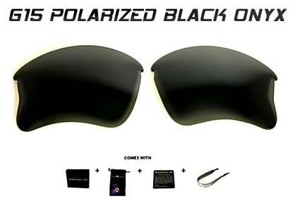 a8f9ed4ec0 Amazon.com  Samvette SE Custom Onyx Black Polarized Lenses for ...