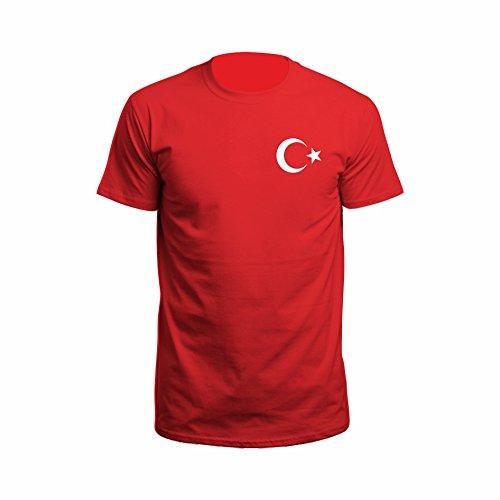 Istanbul Ilçe Türkiye T-Shirt Rot
