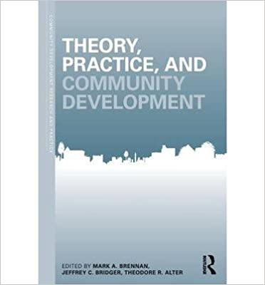 { [ THEORY, PRACTICE AND COMMUNITY DEVELOPMENT (COMMUNITY DEVELOPMENT RESEARCH AND PRACTICE) ] } Brennan, Mark A ( AUTHOR ) Jul-10-2013