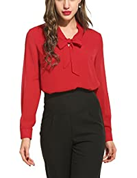 Amazon Com Reds Women S Blouses Button Down Shirts