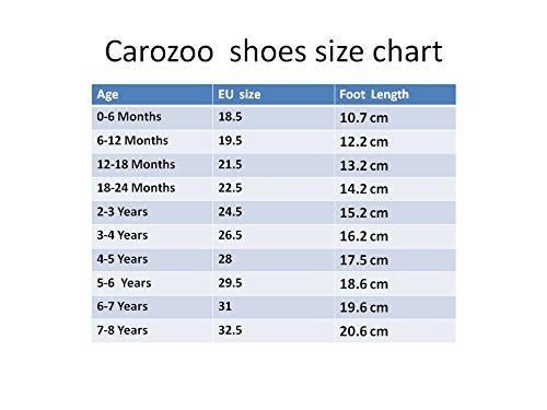 carozoo Little Yellow Man S Leder weichem Fußbett Schuhe Hausschuhe Kinderbetten/Kinder