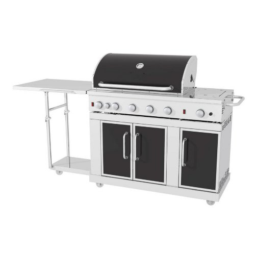 Master Forge Bbq Grill.Amazon Com Master Forge 5 Burner Stainless Steel Lp Gas