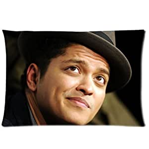 Bruno Mars Pillowcase Standard Size 20x30 One Side Pillow Case PLS713